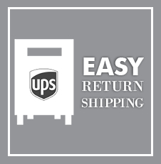Easy Order Return Shipping from Friar Tux