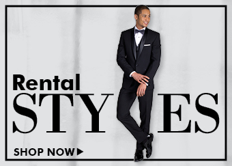 Suits and Tuxedos to rent from Friar Tux Shop
