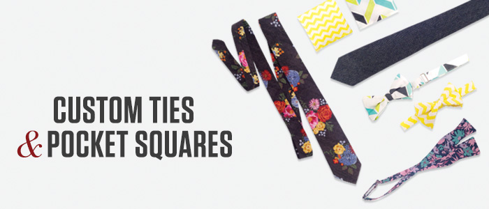 Custom Ties, Bow Ties and Pocket Squares for your Wedding or Event by Friar Tux Shop