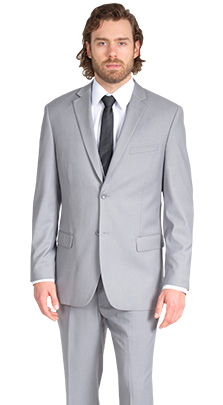 Heather Grey Modern Fit Suit