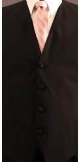 Blush Cravat Striped Tie