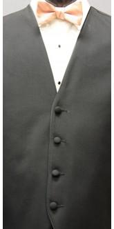 Cameo Cravat Striped Bow Tie