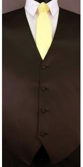Canary Cravat Striped Tie