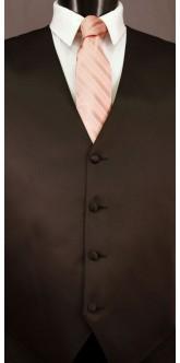 Cameo Cravat Striped Tie