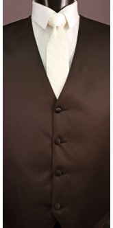 Ivory Cravat Striped Tie