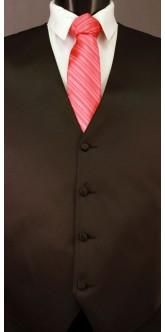 Guava Cravat Striped Tie
