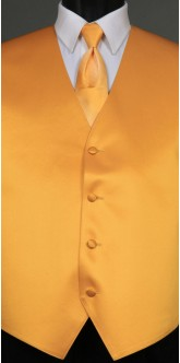 Saffron Solid, Ombre Tie