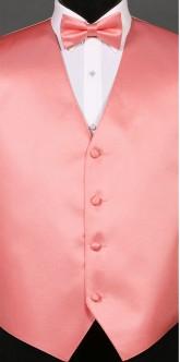 Coral Savvi Solid, Bow Tie