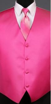 Fuchsia Savvi Solid, Ombre Tie