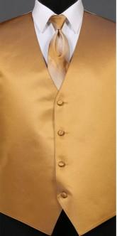 Gold Savvi Solid, Ombre Tie