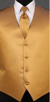 Gold Savvi Solid, Solid Tie