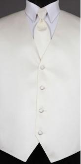 Ivory Savvi Solid, Solid Tie