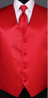 Red Savvi Solid, Ombre Tie