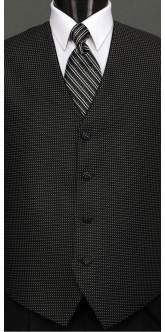 Black & White Sterling, Striped Tie
