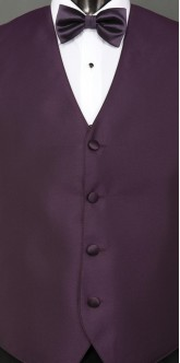 Eggplant Sterling, Bow Tie