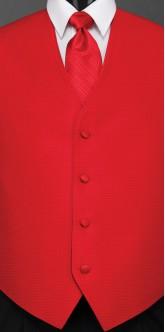 Ferrari Red Sterling, Striped Tie