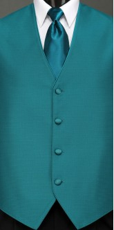 Teal Sterling, Solid Tie