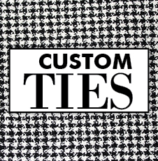 Have custom mens ties and bow ties made