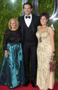 Tony Awards Bradley Cooper and Family