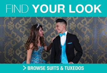 shop suits and tuxedos for quinceanera courts and chambelans