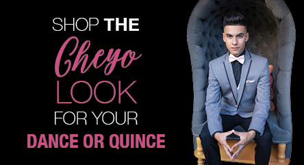 Shop the Cheyo Carillo Quinceanera suit and tuxedo look